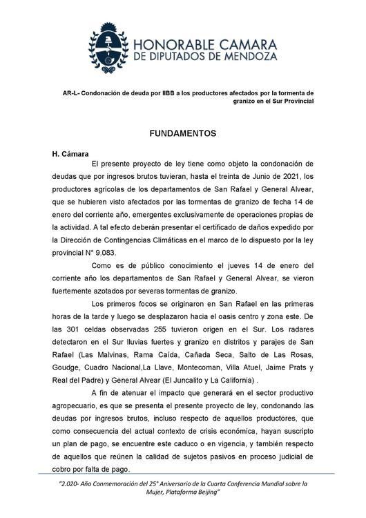 AR-L-Condonación de deudas por IIBB a los productores afectados por la tormenta de granizo en el sur provincial (1)_00002