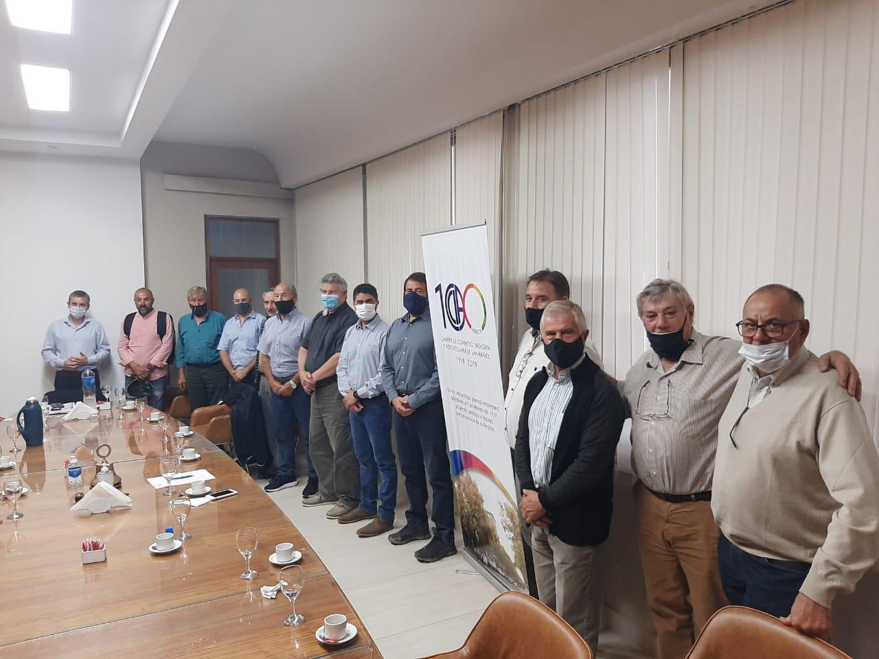 reunion-camara-san-rafael-ministro-isgro-paso-las-lenas-acueducto